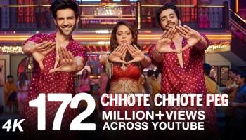 Chhote Chhote Peg Lyrics - Sonu Ke Titu Ki Sweety | Kartik Aaryan, Nushrat Bharucha, Sunny Singh, Yo Yo Honey Singh, Neha Kakkar, Navraj Hans