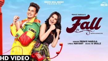 Fall Lyrics - Prince Narula | Jashn Agnihotri