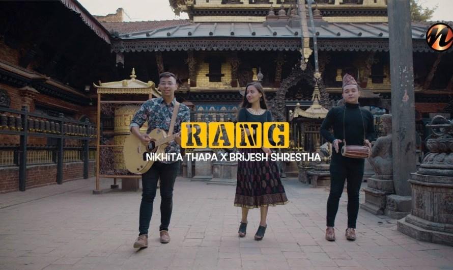 RANG | Nikhita Thapa | Aa hai mitho timro muskan lyrics