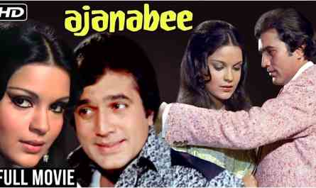 Ajnabee (1974) | ek ajnabi haseena se lyrics