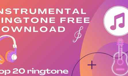instrumental ringtone free download