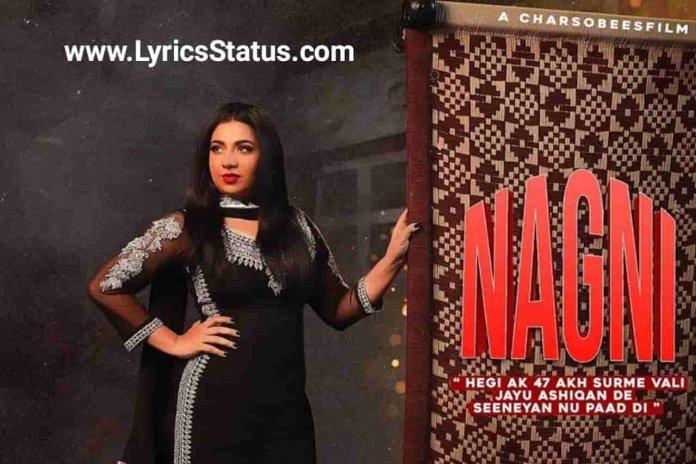 Jasmine Sandlas new song Kaali Nagni Lyrics status download