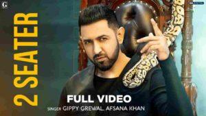 Gippy Grewal 2 Seater Afsana Khan Lyrics Status Download Kaali tere suit de wargi 2 seater gaddi ae Sanwle rang jattan de Thinking par waddi