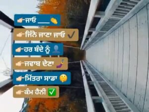 Jine Jana Jayo Punjabi Attitude Whatsapp Status Download Video Jayo jine jaana jaayo Har bande nu jawab dena mittra sadda kamm hai ni status.