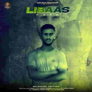 Kaka Libaas Lyrics Status Download Punjabi Song Kale je libas di shokinan kudi Dur Dur jave mere kale rang to WhatsApp video black background.