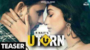 U Turn R Nait Lyrics Status Download Punjabi Song Maade time vich mitran to u turn maargi ni WhatsApp status video download black background