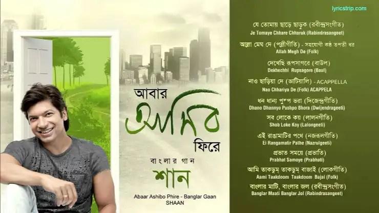 Dekhechi Rupsagore Moner Manush Lyrics