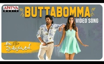 ButtaBomma Telugu Song Lyrics - Thaman Ft. Armaan Malik