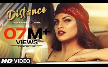 Distance Lyrics -Himanshi Khurana