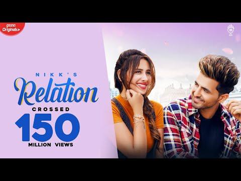 Relation Song lyrics in Hindi Meaning - Nikk Ft Mahira Sharma