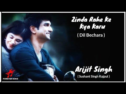 Zinda Rehke Kya Karoon lyrics - Dil Bechara Movie, Sushant Singh Rajput
