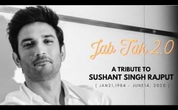 Jab Tak 2.0 - Adhyayan Suman Tribute to Sushant Singh Rajput