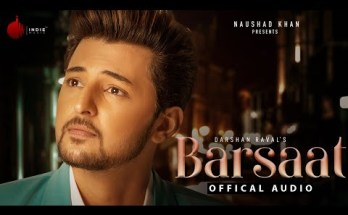 Barsaat Lyrics - Darshan Raval