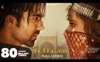 Titliaan Lyrics - Afsana Khan Ft. Harrdy Sandhu