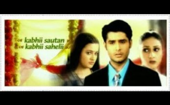 Kabhii Sautan Kabhii Sahelii Title Song Lyrics Star Plus 2001