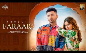 Faraar Lyrics - Akull Ft. Avneet Kaur