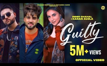 Guilty Lyrics - Inder Chahal Ft. Karan Aujla