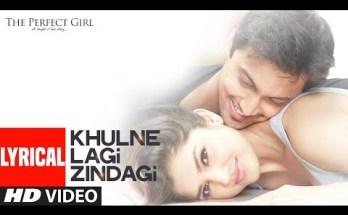 Khulne Lagi Zindagi Lyrics - The Perfect Girl | Raman Mahadevan