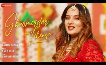 Ghoomerdar Lehengo Lyrics - Aakanksha Sharma