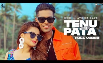 Tenu Ni Pata Lyrics - GURI Ft. Avneet Kaur