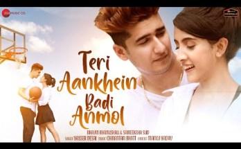 Teri Aankhein Badi Anmol Lyrics - Yaseer Desai