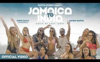 Jamaica To India Lyrics - Emiway Bantai X Chris Gayle (Universeboss)