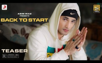 Back To Start Lyrics - Asim Riaz