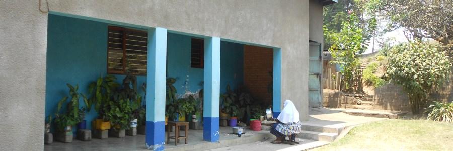 Haus, in dem ich in Tukuyu wohne