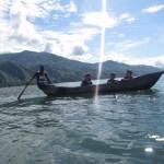 Mangobaumboot auf dem Malawisee