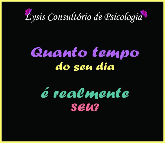 Reflexão do dia: Lysis Psicologia