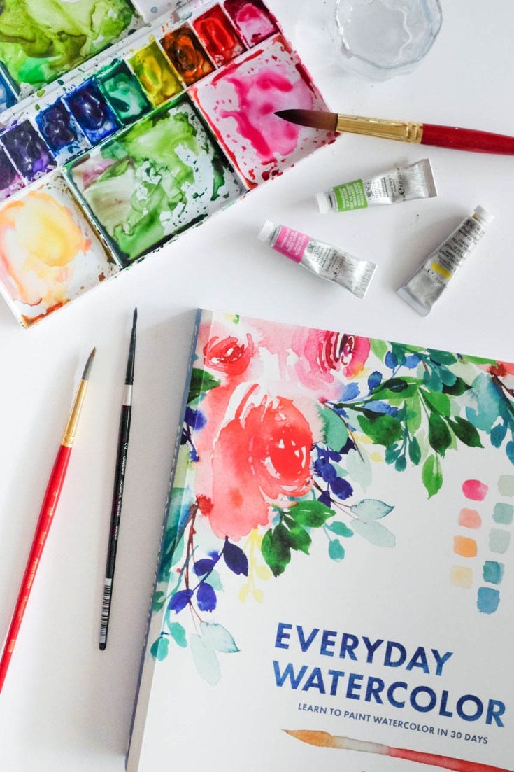 Everyday Watercolor Book Review