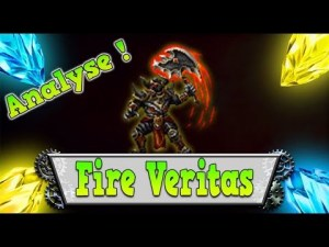 ffbe fr analyse VERITAS des FLAMMES brave exvius review
