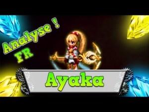 Ayaka review ffbe classement brave exvius