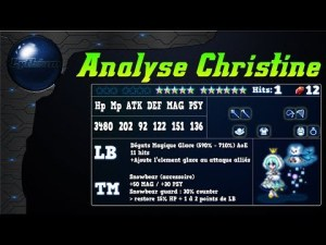 final fantasy brave exvius analyse Christine review, banner