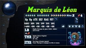 Analyse de Marquis de léon sur FFBE global