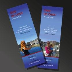 Marque-page Duo de choc et Trio de choc