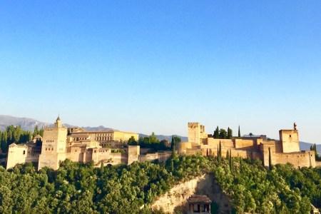 Alhambra de Granada. España es uno de los países más seguros del mundo. Foto de @PaulLenk