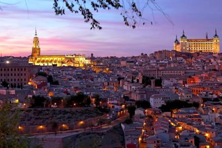Ciudad de Toledo en España