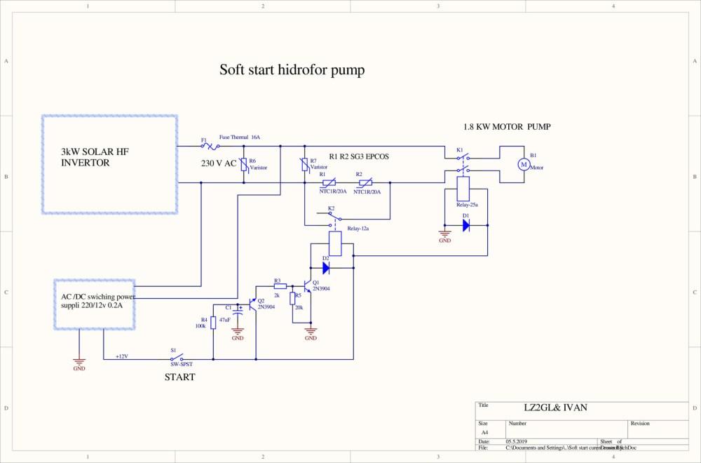 medium resolution of soft start motor pump schematic