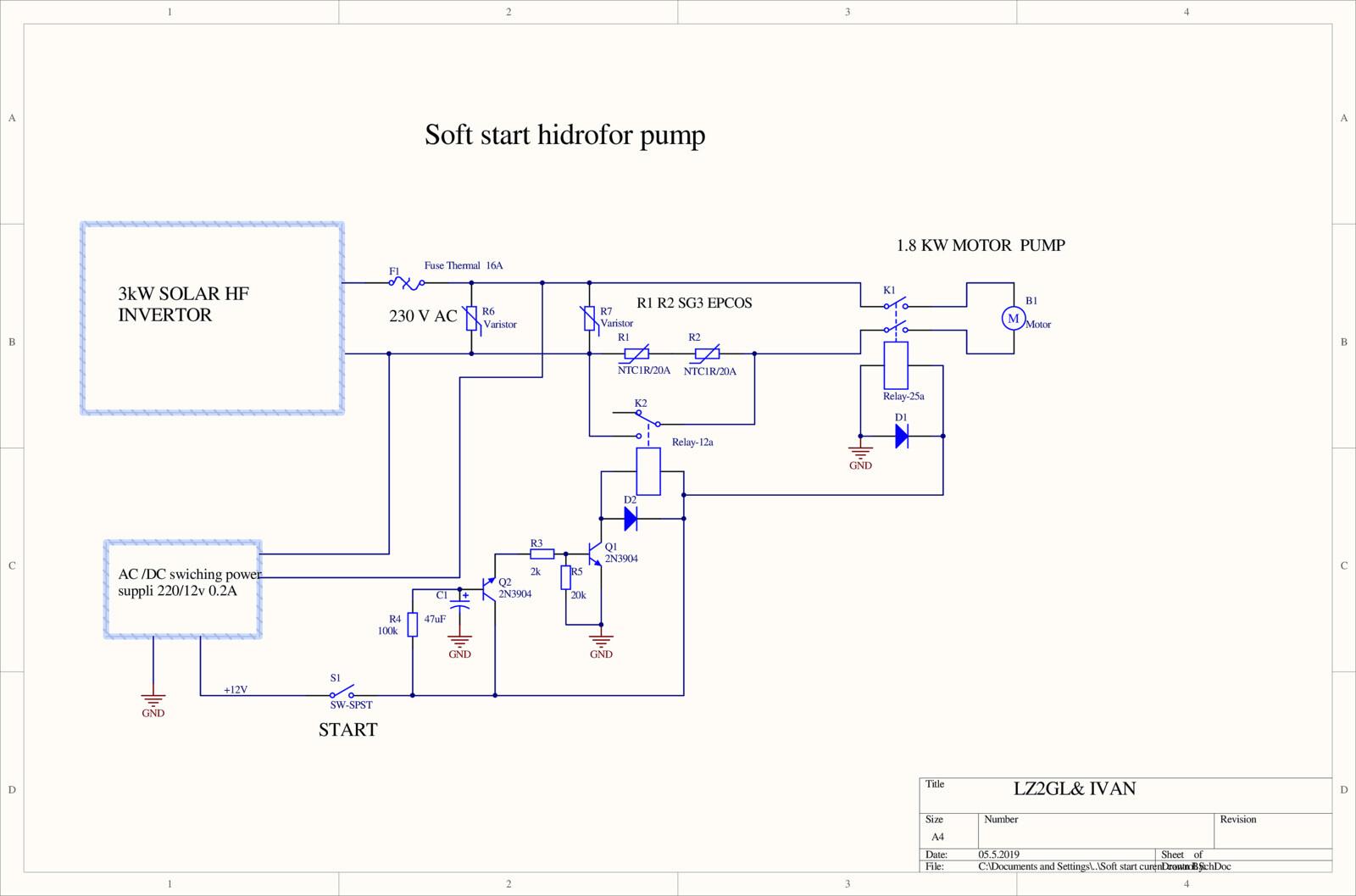 hight resolution of soft start motor pump schematic