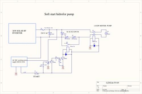 small resolution of soft start motor pump schematic