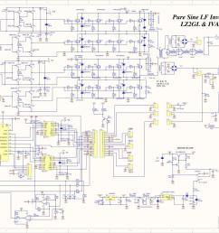 pure sine wave power inverter 3kw schematic [ 1200 x 845 Pixel ]