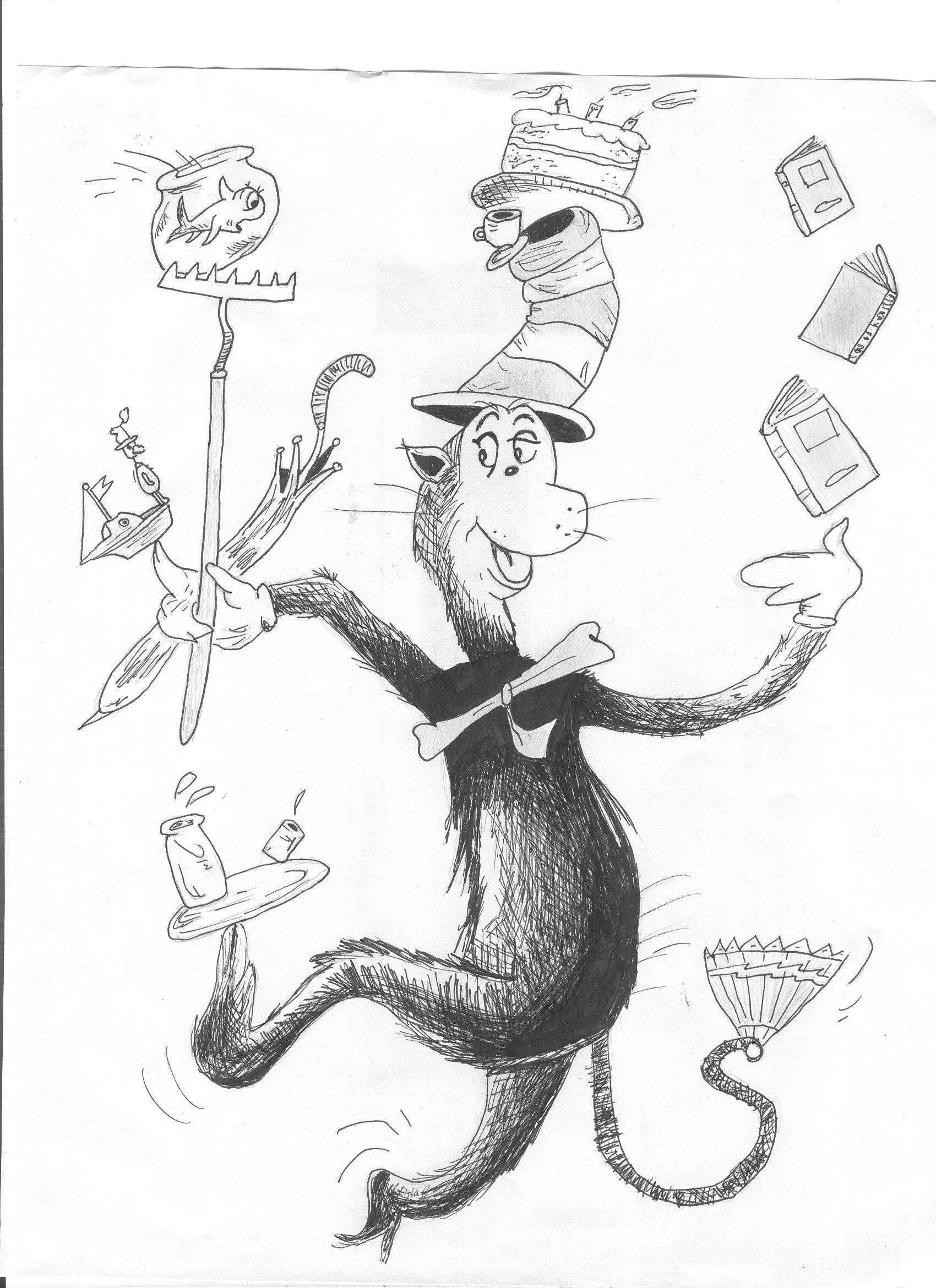 Dr Seuss Lets The Cat And The Hat Loose In Lzhs Bear Facts