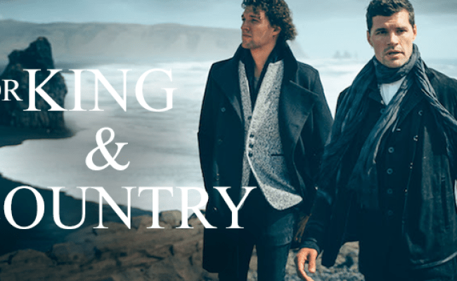 For King And Country Pioneers Backdrop Christian Karaoke