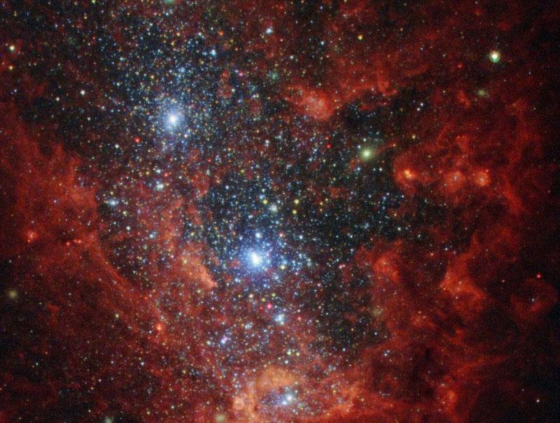 哈勃望远镜拍摄的最美星空 美到窒息