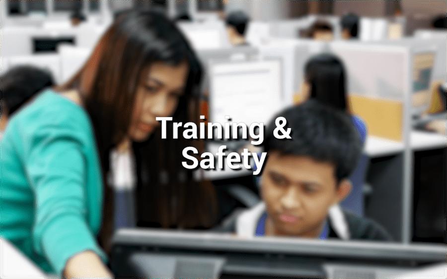 Training & Safety