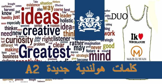 اختبار5: تدرب على كلمات هولندية جديده