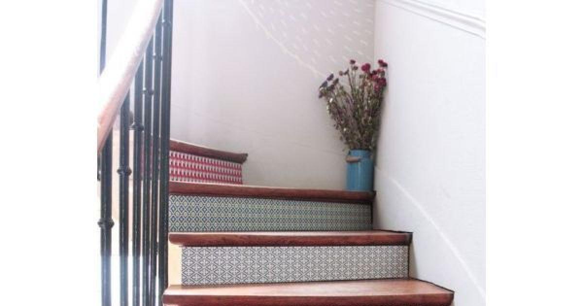 Dcorer les contremarches dun escalier