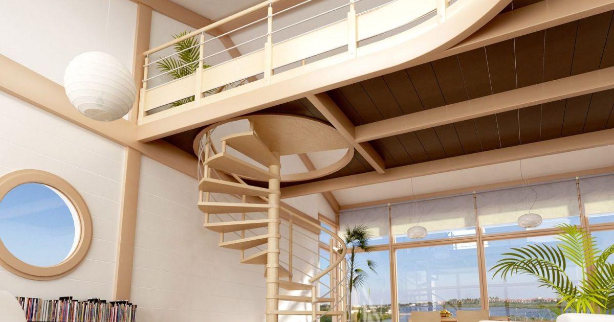 Escalier En Colimacon Par Leroy Merlin