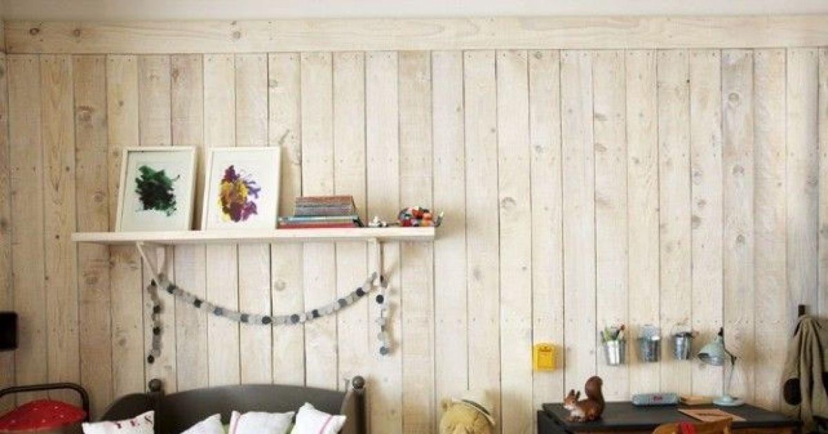 Rnover et moderniser un mur en lambris